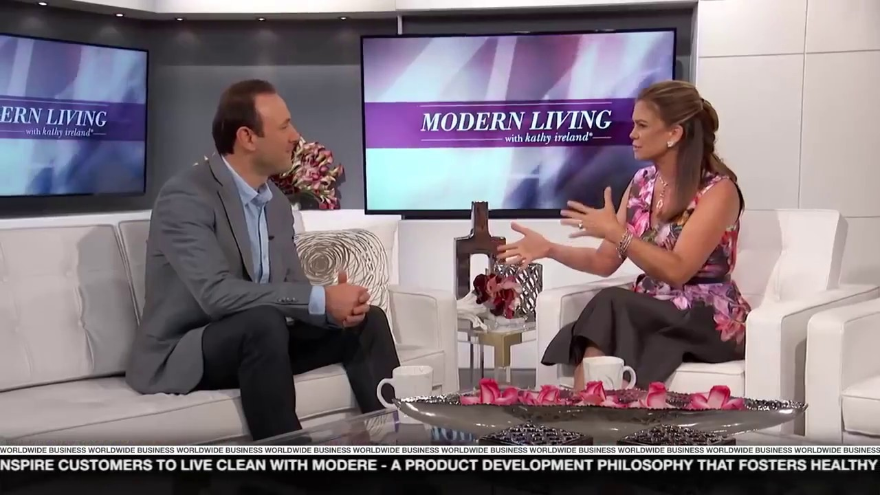 Modere featured on Modern Living with kathy ireland