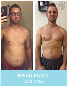 BRIAN KNOLL LOST 23 lbs