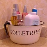 Toiletries and cosmetics