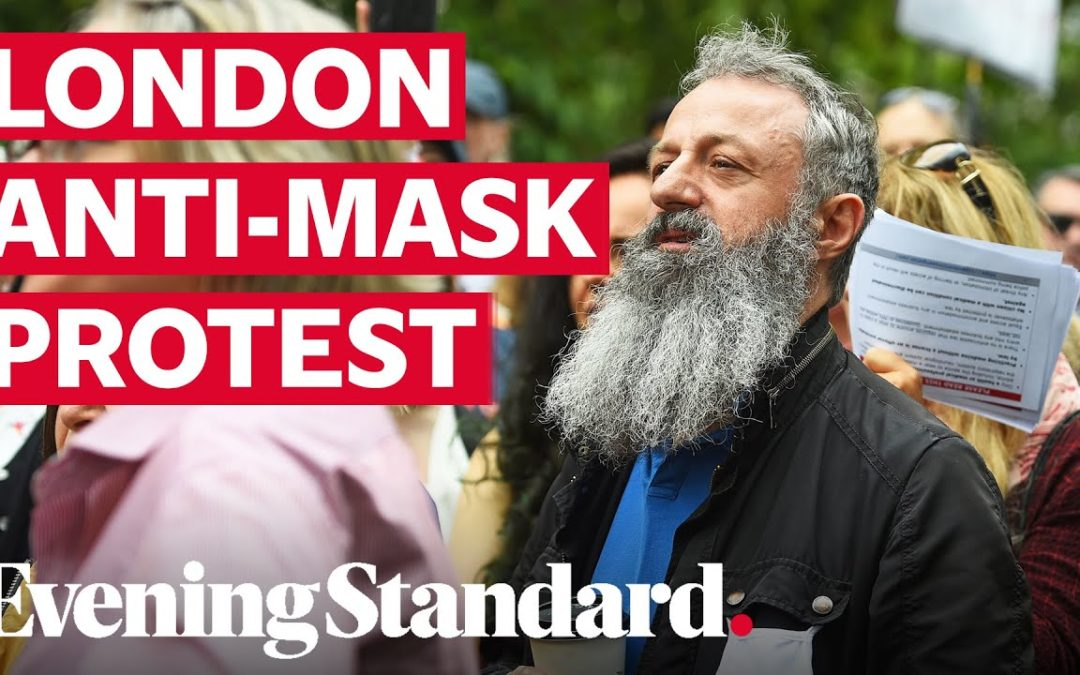 London Hyde Park protest: Hundreds gather